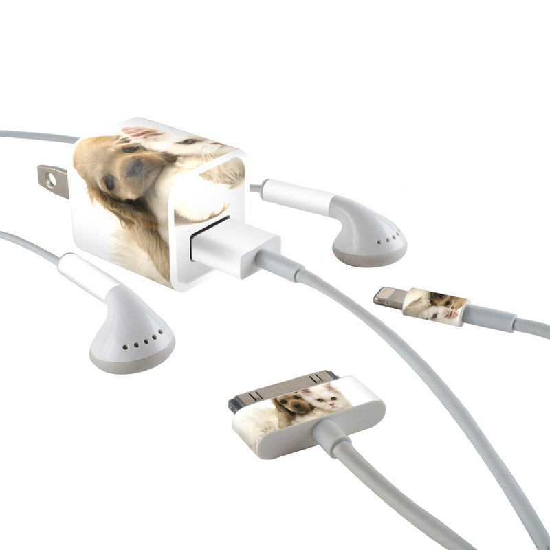 Young Love iPhone Earphone, Power Adapter, Cable Skin