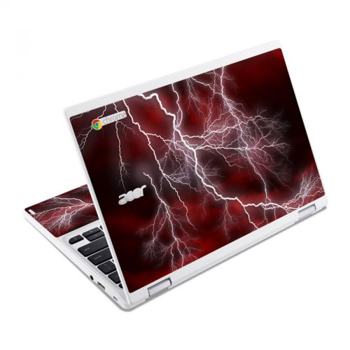Apocalypse Red Acer Chromebook R 11 Skin