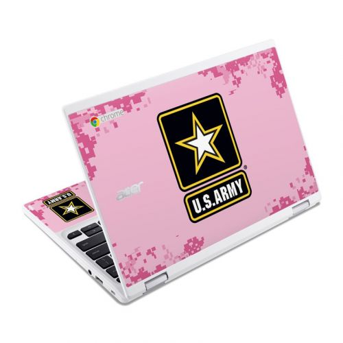Army Pink Acer Chromebook R 11 Skin