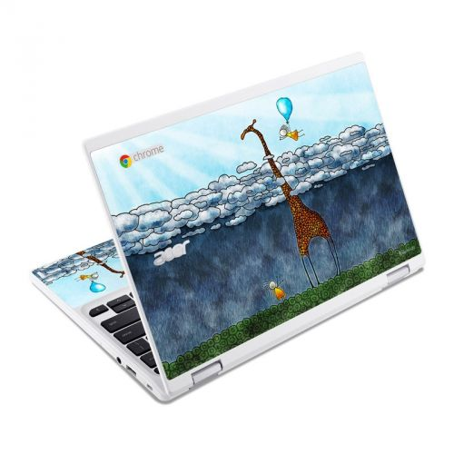 Above The Clouds Acer Chromebook R 11 Skin