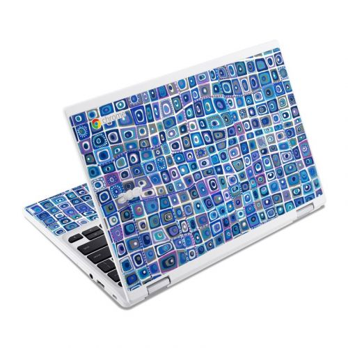 Blue Monday Acer Chromebook R 11 Skin