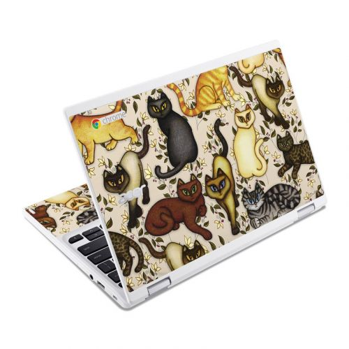 Cats Acer Chromebook R 11 Skin