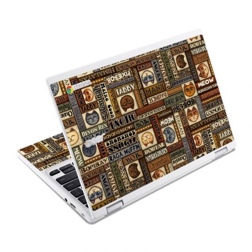 Cat Breeds Acer Chromebook R 11 Skin