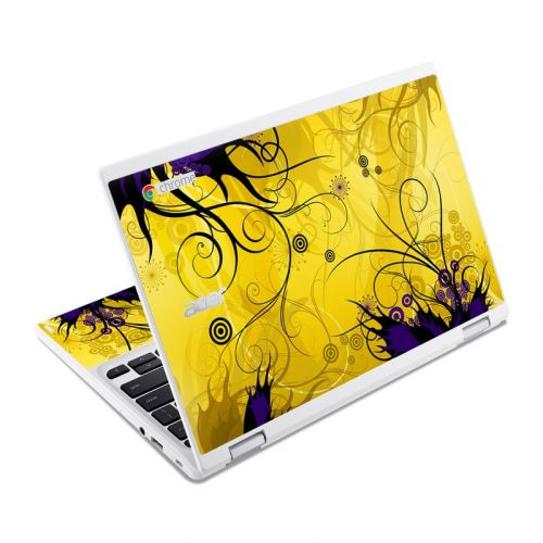 Chaotic Land Acer Chromebook R 11 Skin