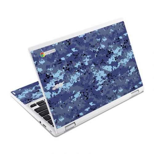 Digital Sky Camo Acer Chromebook R 11 Skin