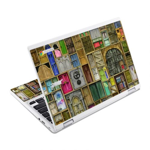 Doors Closed Acer Chromebook R 11 Skin