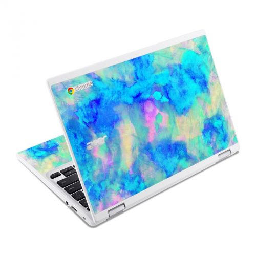 Electrify Ice Blue Acer Chromebook R 11 Skin