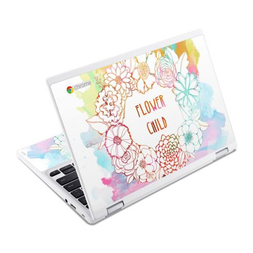 Flower Child Acer Chromebook R 11 Skin