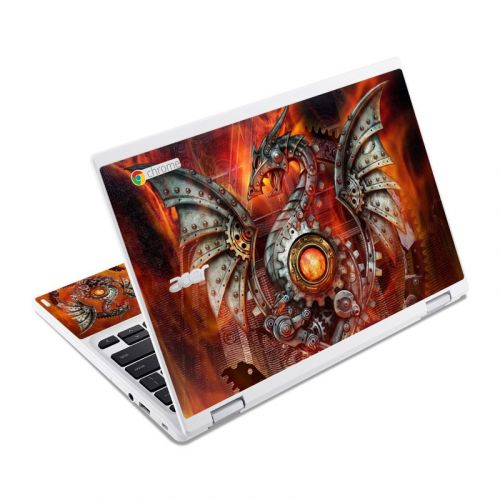Furnace Dragon Acer Chromebook R 11 Skin