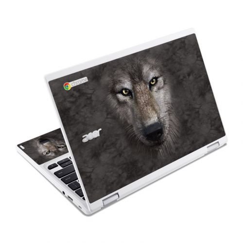 Grey Wolf Acer Chromebook R 11 Skin