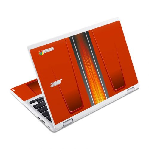 Hot Rod Acer Chromebook R 11 Skin