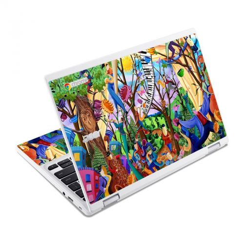 Happy Town Celebration Acer Chromebook R 11 Skin