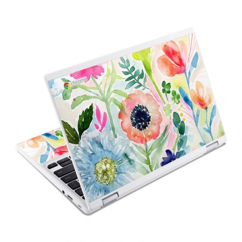 Loose Flowers Acer Chromebook R 11 Skin