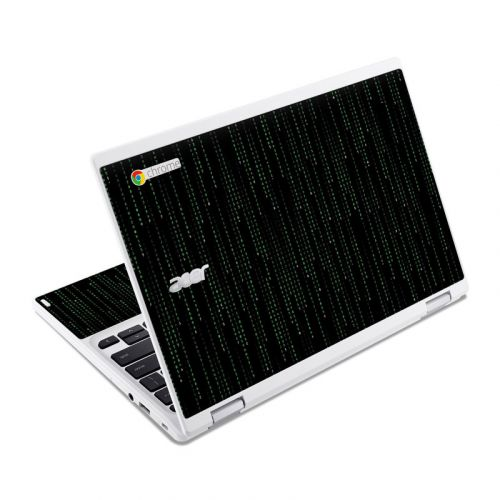 Matrix Style Code Acer Chromebook R 11 Skin