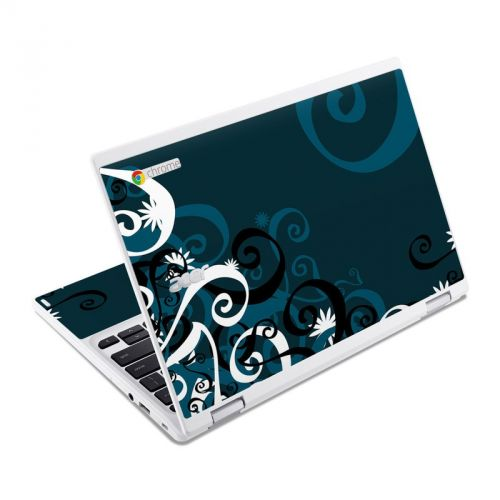 Midnight Garden Acer Chromebook R 11 Skin