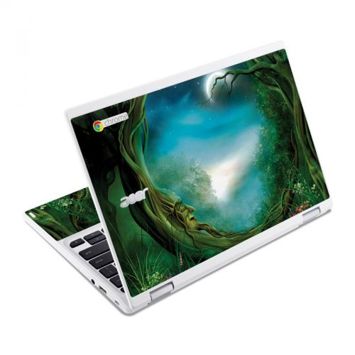 Moon Tree Acer Chromebook R 11 Skin