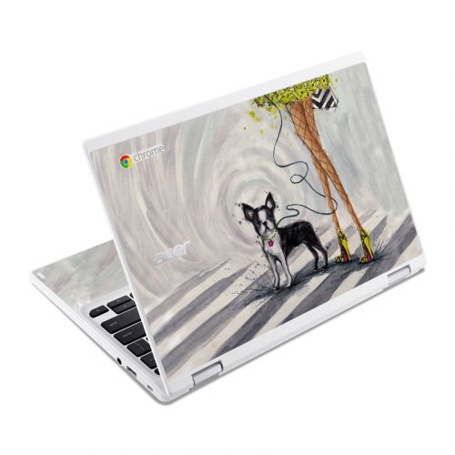 Hello New York Acer Chromebook R 11 Skin