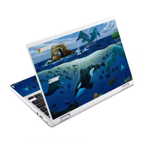 Oceans For Youth Acer Chromebook R 11 Skin
