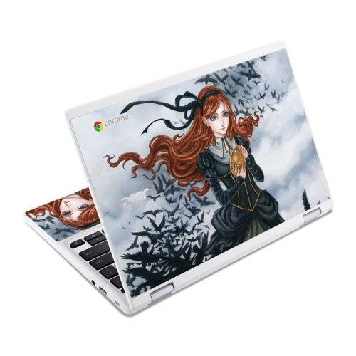 Raven's Treasure Acer Chromebook R 11 Skin