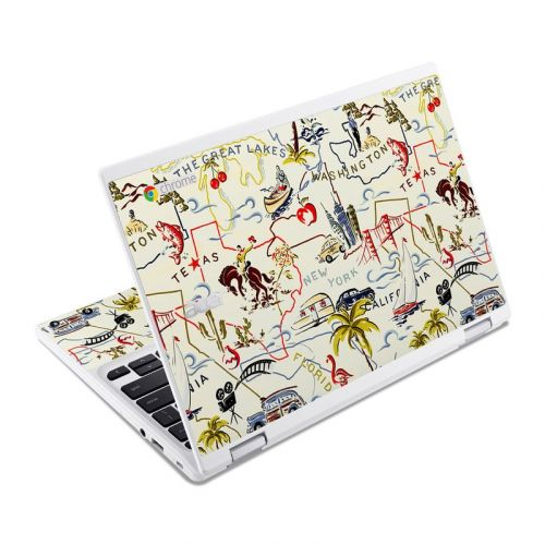 Road Trip Acer Chromebook R 11 Skin