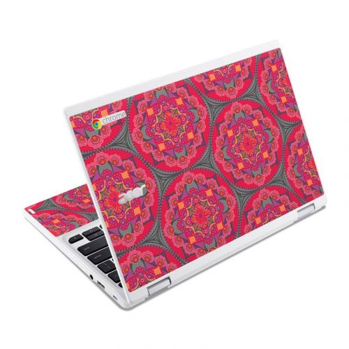 Ruby Salon Acer Chromebook R 11 Skin