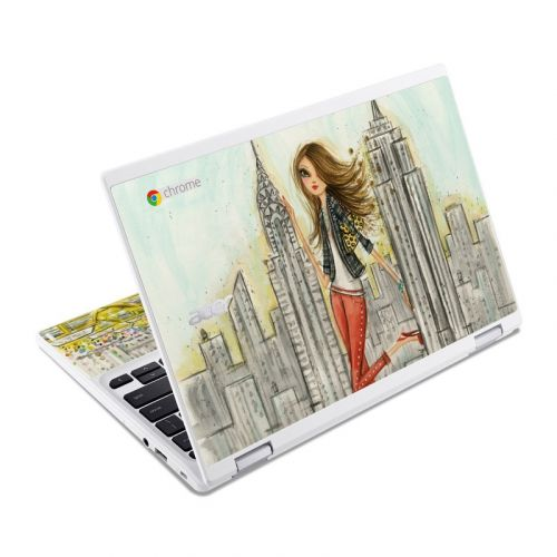 The Sights New York Acer Chromebook R 11 Skin