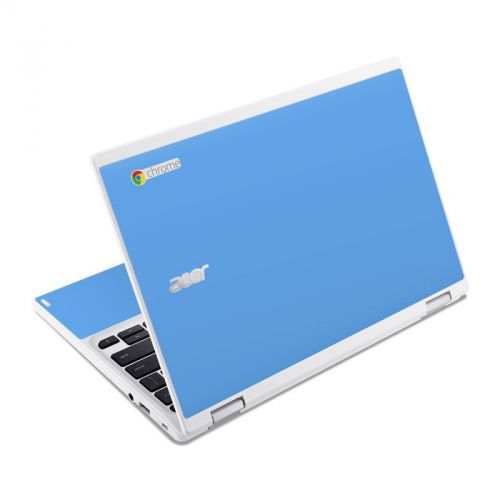 Solid State Blue Acer Chromebook R 11 Skin