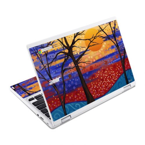 Sunset Moon Acer Chromebook R 11 Skin