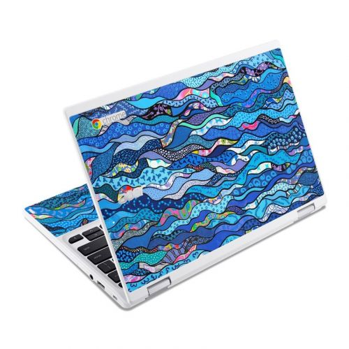 The Blues Acer Chromebook R 11 Skin