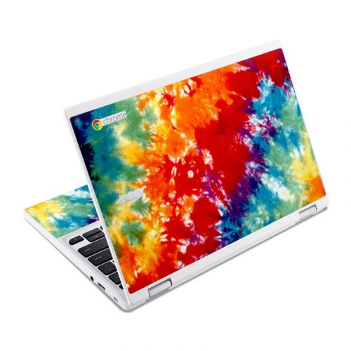 Tie Dyed Acer Chromebook R 11 Skin