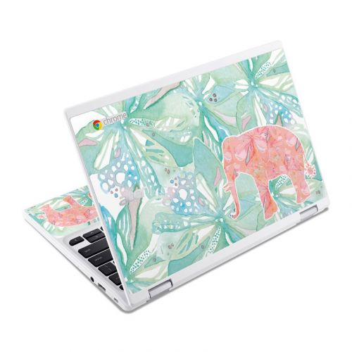 Tropical Elephant Acer Chromebook R 11 Skin
