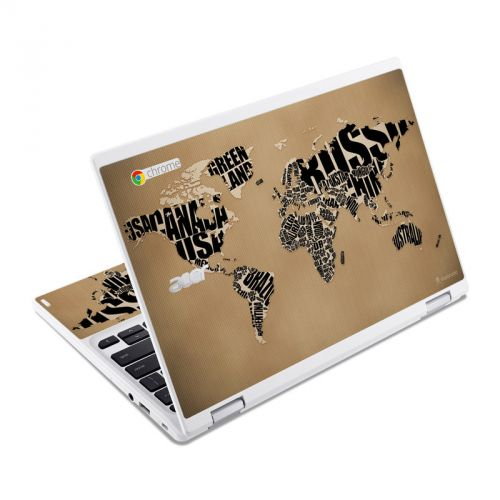 Type Map Acer Chromebook R 11 Skin
