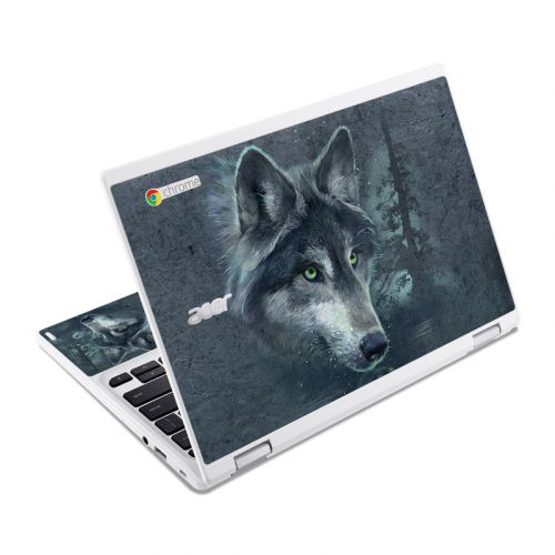 Wolf Reflection Acer Chromebook R 11 Skin
