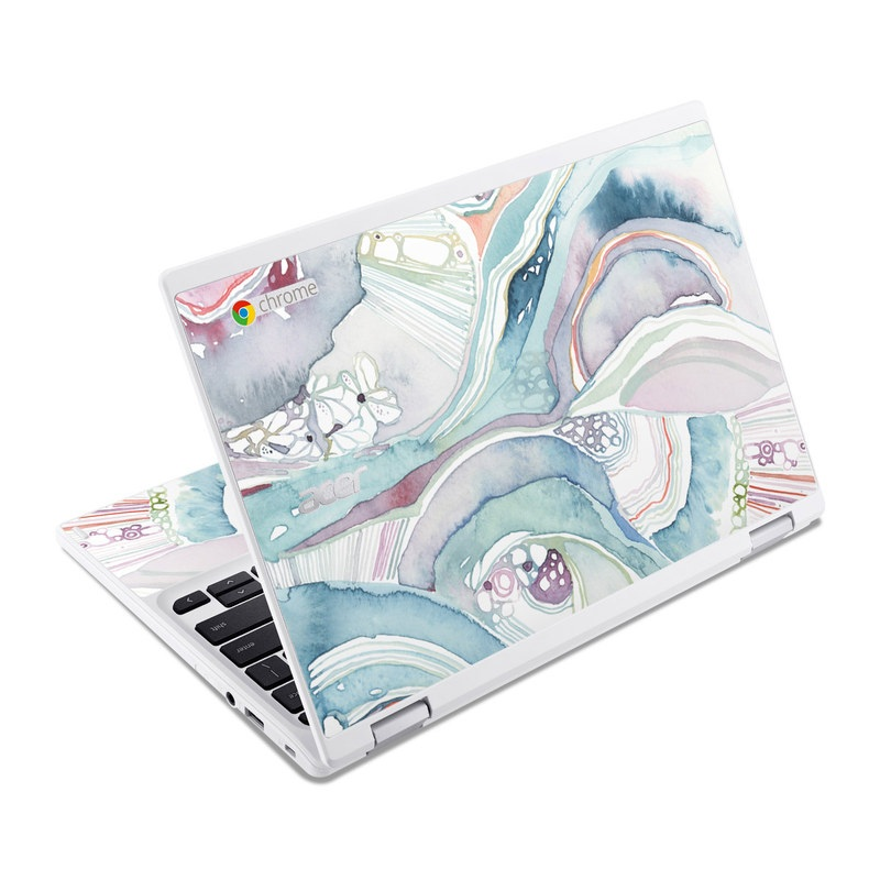 Abstract Organic Acer Chromebook R 11 Skin