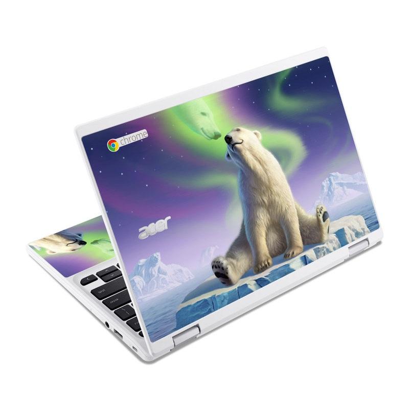 Arctic Kiss Acer Chromebook R 11 Skin