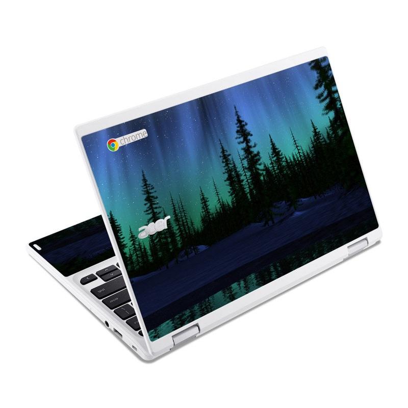 Aurora Acer Chromebook R 11 Skin