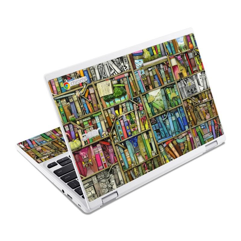 Bookshelf Acer Chromebook R 11 Skin