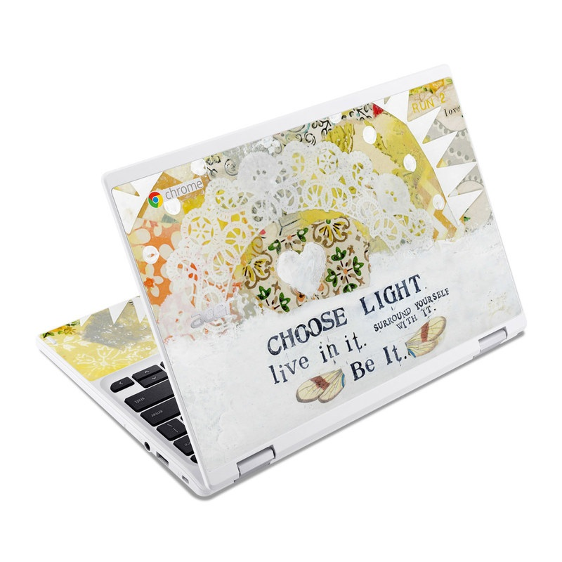 Choose Light Acer Chromebook R 11 Skin