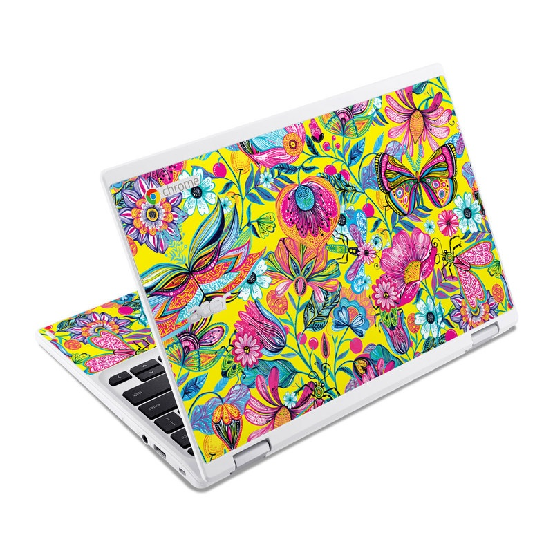 Endless Garden Acer Chromebook R 11 Skin