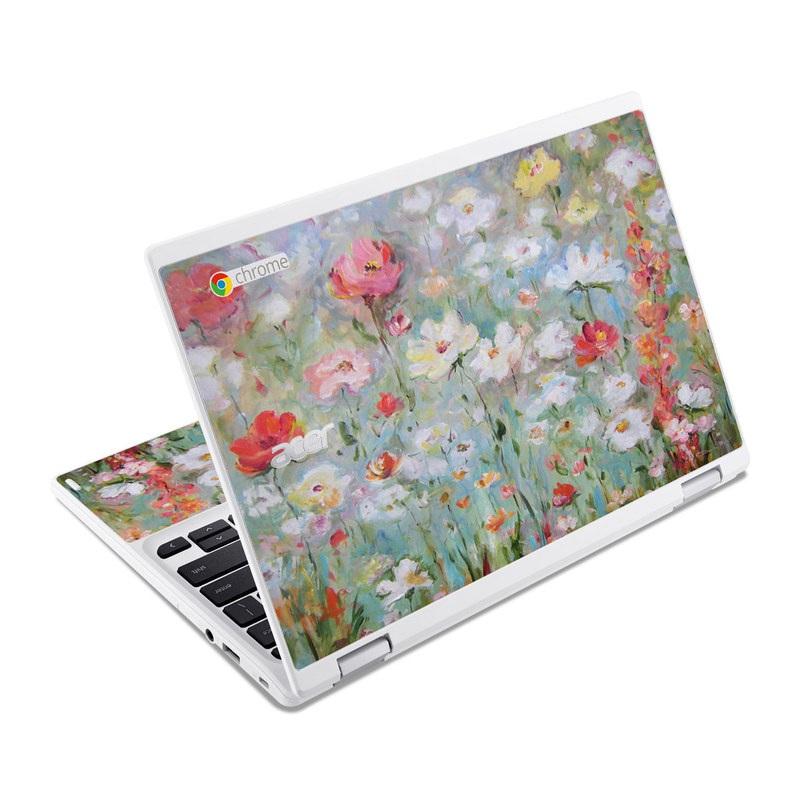 Flower Blooms Acer Chromebook R 11 Skin