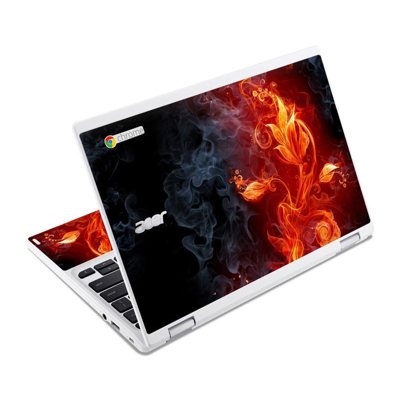 Flower Of Fire Acer Chromebook R 11 Skin