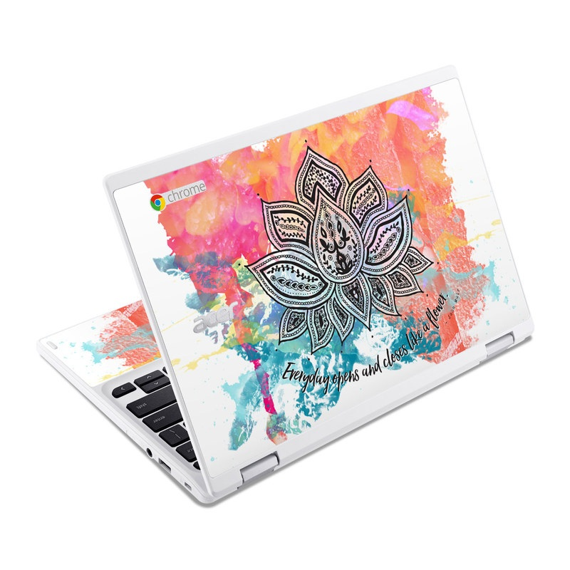 Happy Lotus Acer Chromebook R 11 Skin