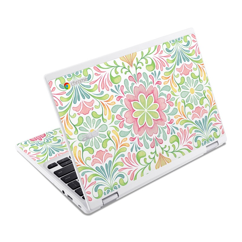 Honeysuckle Acer Chromebook R 11 Skin