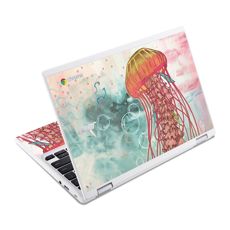 Jellyfish Acer Chromebook R 11 Skin