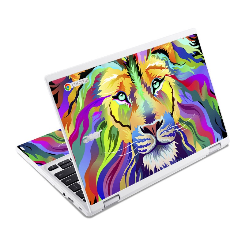 King of Technicolor Acer Chromebook R 11 Skin