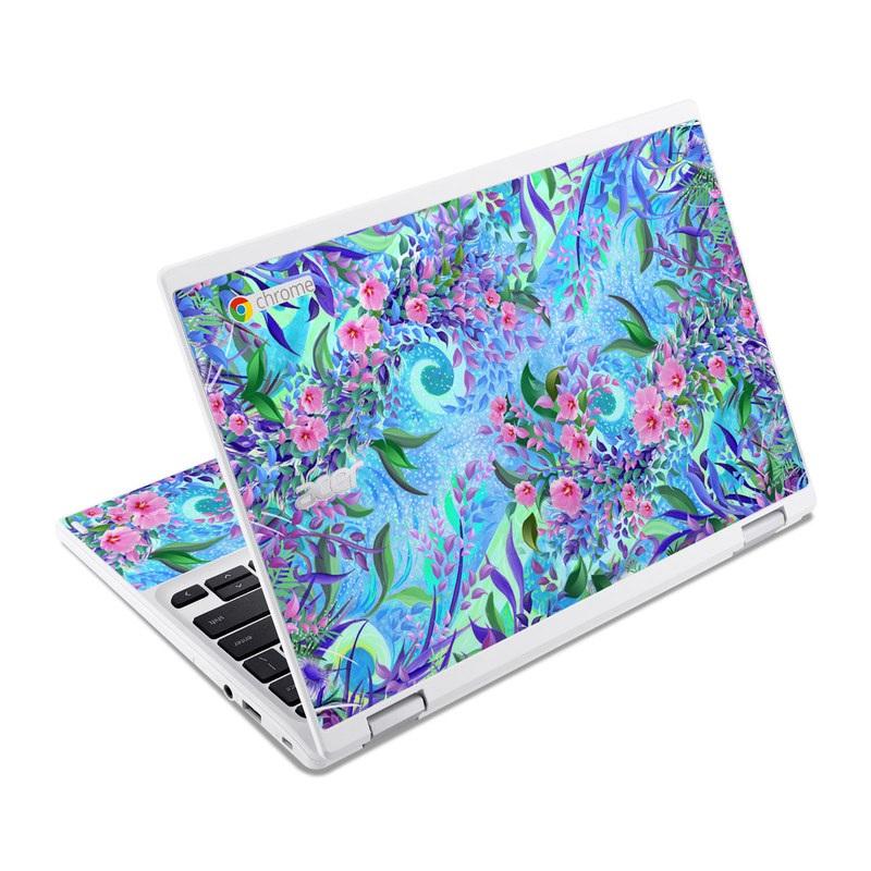 Lavender Flowers Acer Chromebook R 11 Skin