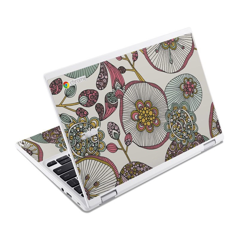 Lotus Acer Chromebook R 11 Skin