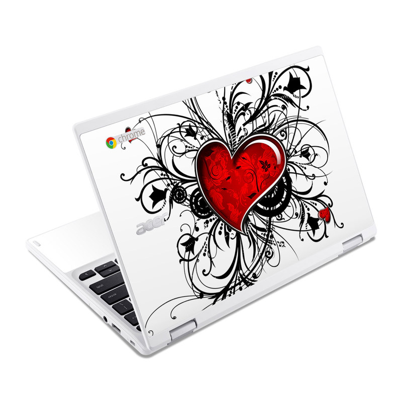 My Heart Acer Chromebook R 11 Skin