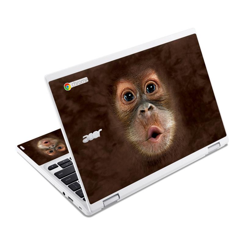 Orangutan Acer Chromebook R 11 Skin