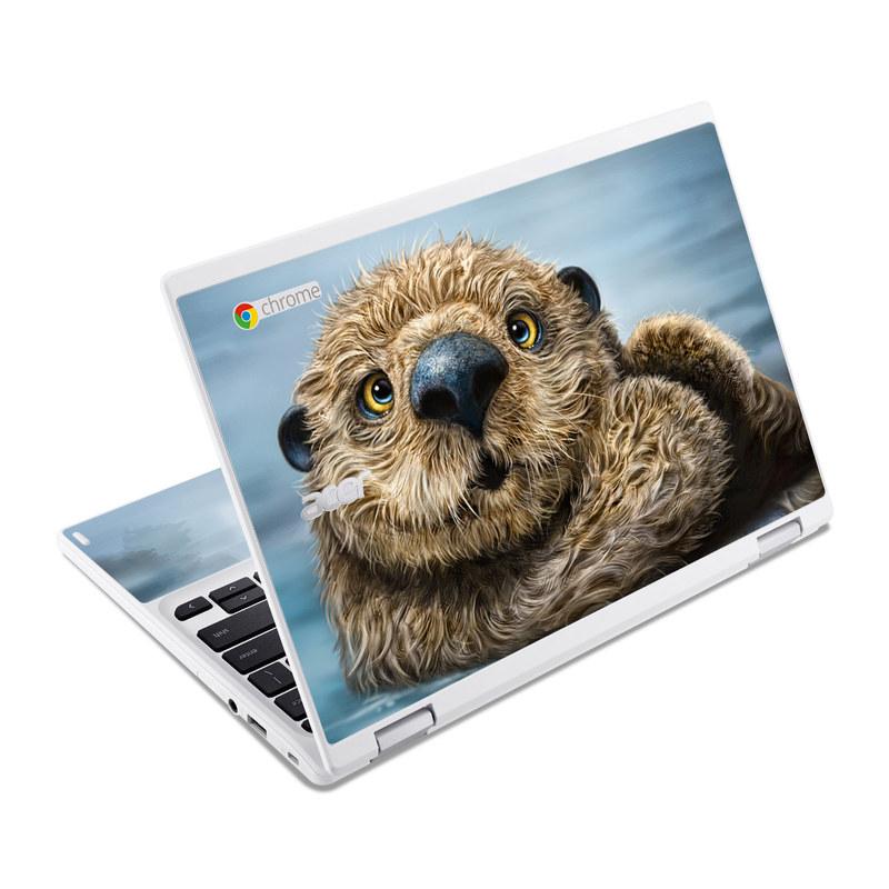 Otter Totem Acer Chromebook R 11 Skin